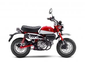 One of the best loved Hondas of all time, the original Monkey was a 1960's hit, and it's easy to see why. That little two wheeled rascal was built to generate ear-to-ear smiles. The new 2019 Honda Monkey is a 125cc bundle of practical urban transport, a great back of the motorhome bike, and just plain too much fun to pass by.  249448