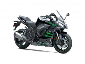 The sport appeal of Kawasaki Ninja motorcycles goes well beyond the racetrack with the remarkably versatile Ninja 1000SX sportbike. Enjoy pure sporting thrill with superior power, two-up touring capability and advanced rider support electronics. A force to be reckoned with on the track and a machine built for weekend trips.