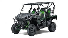 Eager for action, the Kawasaki Teryx4 side x side is built to dominate the most demanding trails. With the perfect combination of rugged sport performance and useful capability, the Teryx4 is up for a variety of challenges. Backed by the strength of Kawasaki Heavy Industries, Ltd. (KHI) and the Kawasaki STRONG 3-Year Limited Warranty, the Teryx4 is a versatile side x side that you can depend on.