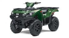 THE BRUTE FORCE 750 4X4i ATV OFFERS SERIOUS BIG-BORE POWER AND CAPABILITY. THE LEGENDARY 749cc V-TWIN ENGINE BLASTS UP HILLY TRAILS, AND THROUGH MUD AND SAND WITH EASE. THE INDEPENDENT SUSPENSION SMOOTHES OUT EVEN THE ROUGHEST OF TERRAIN.