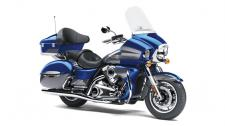 The Vulcan 1700 Voyager ABS motorcycle is the king of Kawasaki cruisers.