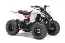 Boasting electric start, automatic transmission, and parental controls, the YFZ50 is perfect for riders 6‑years‑old looking for the perfect entry‑level sport performance ATV.  YFZ05YYXKW This item may not be available immediately in dealer stock. Some items may need to be ordered. See terms for details.
