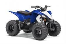 Boasting electric start, automatic transmission, and parental controls, the YFZ50 is perfect for riders 6‑years‑old looking for the perfect entry‑level sport performance ATV.  YFZ05YYXKL This item may not be available immediately in dealer stock. Some items may need to be ordered. See terms for details.