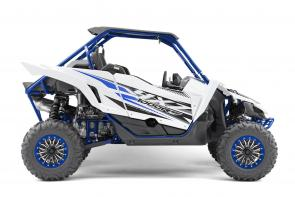 The YXZ1000R SS SE shifts the pure sport Side‑by‑Side class into overdrive with fully adjustable FOX 2.5 Podium X2 shocks, bead lock wheels, eye‑catching painted exterior and more.   YXZ10YESKW This item may not be available immediately in dealer stock. Some items may need to be ordered. See terms for details.