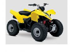 Get your little ones started on the Quadsport Z90, so your whole family can experience the fun of the outdoors and the joy of riding a Suzuki!