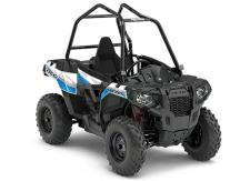 The ACE® 570 EPS delivers power, control, and premium features for next level single-seat off-road adventure. With a powerful and reliable 45 HP  ProStar®  570 engine, trail tuned suspension, easy-to use automotive style controls, True On-Demand AWD, and a comfortable sit in, step out design, you'll have everything you need for a day dominating the trails.      Electronic Power Steering (EPS)     Factory Installed Quick Access 1/4 Doors     Automotive Style Paint & Graphics     Trail Premium Dual A-Arm Front Suspension