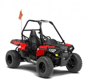 As the industrys first single seat youth model, the Polaris ACE® 150 EFI is designed to give kids ten years and older the joy of driving with adult supervision while providing safety features parents will love.