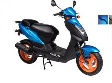 The most affordable KYMCO scooter in the USA.  Popular with anyone needing a reliable, high fuel efficiency model.  Loaded with features, this sporty vehicle is a versatile and comfortable ride. (also available in Matte Black)