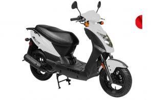 This scooter is for the rider who wants great fuel efficiency, a sporty look and excellent standard features at an affordable price.