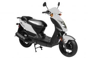 The most affordable KYMCO scooter in the USA. Popular with anyone needing a reliable, high fuel-efficiency model. Loaded with features, this sporty vehicle is a versatile and comfortable ride.