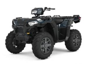 Meet the ATV that defined a category. The Sportsman 850 continues the tradition of do-it-all capability and toughness, with power that packs a punch and suspension to tame even the wildest terrains. 78-Horsepower ProStar Engine with EFI Industry-Leading On-Demand All-Wheel Drive 11.5� of Ground Clearance Industry�s Largest 30 A.H. Battery 360 lb Front and Rear Rack Capacity