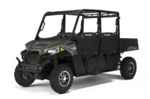 BEST-IN-CLASS 4-PERSON SxS VALUE The RANGER CREW 570 delivers the legendary hardest working value, performance and quality you expect, plus refined comfort for 4 riders.