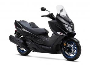 Suzuki's premium, feature-rich scooter, the Burgman 400 is back for 2020 with a special matte black finish. Under this dark finish, the Burgman 400 continues to combine exceptional chassis and engine performance with its sleek body to be a distinctively athletic luxury scooter. The 2020 Burgman 400 sets the convenience and performance standard for all mid-sized scooters while maintaining its reputation for luxury and quality. The Burgman 400 delivers Suzuki's winning combination of style, performance, practicality, convenience, and riding enjoyment.