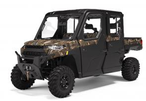 Regardless of the conditions, NorthStar allows you to enjoy the outdoors with factory installation of the premium Pro Shield cab system with heat, air conditioning and a 4,500 lb. winch for whatever the task may be.