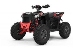 THE WORLDS MOST FORMIDABLE SPORT ATV The Scrambler 1000 S redefines the performance ATV. Ride with unthinkable stability with 55� stance. Experience control and traction like never before with the 27� Duro Powergrip tires. And soak up massive holes and bumps with 14� of performance tuned suspension travel. 89 HP ProStar Engine Walker Evans Premium Shocks Race-Proven RZR XP 1000 Front Differential and Half-Shafts 14.5 of Ground Clearance Exclusive ProSteer Design to Eliminate Bumpsteer