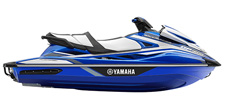 A Legend is Reborn. Engine Type: Supercharged 4-cylinder, 4-stroke, Super Vortex High Output Yamaha Marine Engine. Yamaha's 1.8L supercharged, Super Vortex High Output Marine engine delivers more power and torque than any WaveRunner Personal WaterCraft before it.