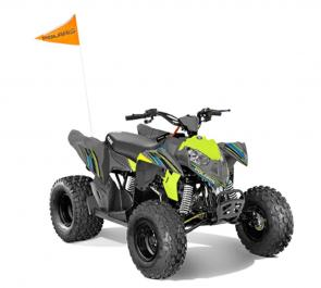 Share the joy of off-roading with your kids by educating them early. The Outlaw® 110 is perfect for young drivers ages 10 and older with adult supervision, delivering reliable performance and standard safety features. The Outlaw® 110 comes standard with one youth helmet, safety tether, daytime running lights, safety whip flag, speed limiting adjuster, and a training DVD.