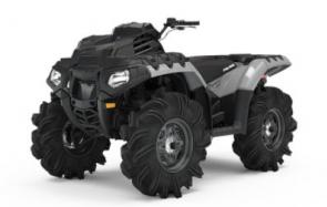 THE ULTIMATE MUD RIDE Every component of the Sportsman High Lifter ATV has been engineered for extreme mud performance. The 952cc engine that has been tuned for prolonged wide-open throttle bursts, to the high and low range mud specific transmission with lower gearing. 29.5 High Lifter Outlaw 2 Tires Shielded Clutch and Engine Intake Ducting Rack Mounted Radiator and Inverted Dual Fans Stiffer Springs for High 13.5 Ground Clearance High and Low Mud Specific Transmission with Lower Gearing