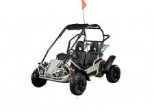 The Hammerhead MudHead 208R, a size up from the Torpedo, is our newest addition to the youth segment and now available in six colors. The MudHead 208R comes equipped with reverse and a 208cc (6.5 HP) LCT electric-start engine utilizing a manual choke for all-weather starting.  Other standard features include an adjustable driver's seat, LED headlights, and a throttle governor.