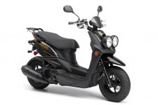 Tough, yet sporty 4-stroke 49cc scooter makes going places fun, even commuting to work or school.