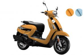 This scooter puts out more horsepower than any other KYMCO model in its category.  At 13.7hp, it boasts an impressive 28% increase over the Super 8 150X.