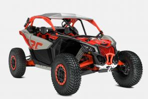 Test your mettle and finally conquer the last mile: The Maverick™ X3 X rc Turbo RR is the ultimate factory rock-crawling side-by-side vehicle for leaving rivals at the bottom of the heap. Four-link TTX suspension with 24-in of travel features a trophy truck-like trailing arm and front double arched A-arm with sway bar.