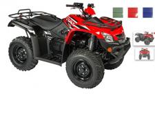 "This mid-sized base model is fully loaded with more special features than most ATVs on the market. The 4-wheel independent suspension and on demand 2wd/4wd drive system makes this vehicle ""the-go-to"" vehicle to take you everywhere.  (Available in Red, Blue and Green)"