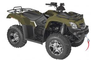 The MXU 450i LE is an upgrade from the already feature-rich MXU 450i.  This Limited Edition comes with the popular matte color finish and black and silver aluminum alloy wheels for a sleek, sporty appearance.  The addition of a 2500 lb. WARN winch accessory makes it the essential vehicle to get the job done.