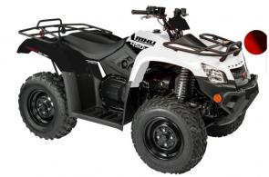 "This mid-sized base model is fully loaded with more special features than most ATVs on the market. The 4-wheel independent suspension and on demand 2wd/4wd drive system makes this vehicle ""the-go-to"" vehicle to take you everywhere."
