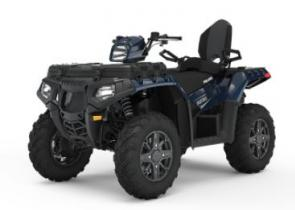 Get out and explore more terrain with the premium features of the Sportsman Touring 850, like the industry�s fastest engaging all-wheel drive and standard adaptable Electronic Power Steering (EPS).