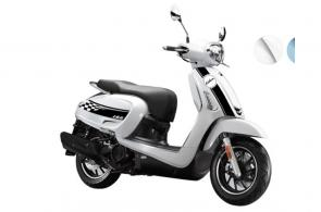 This futuristic retro scooter with ABS & smart features puts out more horsepower than any other KYMCO model in its category. At 13.7hp, it boasts an impressive 28% increase over the Super 8 150X while keeping you connected.
