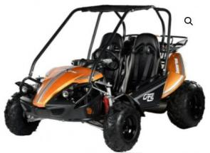The Hammerhead GTS 150 is consistently the nation's best-selling 150cc go kart as it has more standard features than any of our competitors. The GTS 150's most impressive features include individual adjustable bucket seat, 5-point seatbelts, unique body-styling with wrap-around side panels, an adjustable steering wheel, speedometer/odometer, and much, much more.