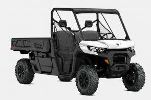 Schedule? To-do list? Office hours? The Defender just works. The day is done when you say it is, so get the most from a side-by-side made to handle any condition, any obstacle, and any rider—from experienced to novice.  PERFECT PLATFORM. The world's best Can-Am with a 4.5 x 6 ft bed and the torque to haul like nothing else off-road. On the job, farm, ranch, hunting trip and leisure rides, Defender PRO was built to stretch what a side-by-side vehicle can do.