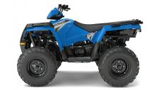 Whether you want the #1 Best Selling Automatic ATV, Sportsman 570, or true big bore power with the best overall ride and handling at an incredible value with Sportsman 850, Sportsman® has you covered. With 44 Horsepower, Electronic Fuel Injection (EFI) and Dual Overhead Cams with 4 valves per cylinder, the 570 starts flawlessly and runs smoothly in varied temperature and altitude. Polaris Sportsman, the best selling automatic 4x4. The AWD engages all four tires when the rear wheels slip and you need more forward traction. Reverts back to 2WD when you don't. Its simple and doesnt require pushing any extra buttons or pulling levers like the competition.