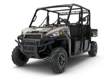 HARDEST WORKING PERFORMANCE. LEGENDARY RIDE AND HANDLING. MORE POWER THAN ANY OTHER UTILITY SIDE-BY-SIDE IN THE WORLD. AND ROOM FOR 6 TO BRING THE WHOLE CREW TO THE JOB SITE, THE HUNTING CABIN, OR OUT ON THE TRAILS. THE RANGER CREW XP 1000 PROVIDES EVERYTHING YOU NEED TO GET MORE DONE.