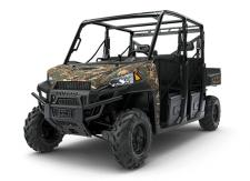 THE RANGER CREW XP 900 DELIVERS ALL OF THE HARDEST WORKING, SMOOTHEST RIDING PERFORMANCE OF THE BEST-SELLING RANGER XP 900, WITH ROOM FOR 6 RIDERS SO YOU CAN BRING THE WHOLE CREW TO THE JOB SITE, THE CABIN, OR OUT ON THE TRAILS. EPS MODEL FEATURES:      Electronic Power Steering (EPS)     Polaris Pursuit Camo Paint