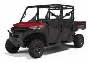 The RANGER CREW 1000 Premium includes all the great features of the CREW 1000 with premium upgrades such as an adjustable seat slider, steel front bumper and premium automotive paint.
