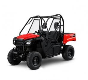Honda�s new Pioneer 520 is going to be the perfect choice for thousands of owners. Why? First of all, its overall size makes it incredibly versatile. At just 50 inches wide, it lets you and a passenger go where other side-by-sides can�t�namely on width-restricted trails. It comfortably seats two, but it also fits in a full-sized pickup bed, making transportation easy. But the biggest news is that the 2021 Pioneer 520 has a new, powerful 518cc engine and a strut-assist tilt/dump utility bed. You also get features like our Honda automatic transmission with AT/MT modes, and selectable two- or four-wheel drive. Don�t need the dump bed? Check out our Pioneer 500�it�s a great option at an excellent price. No matter which one you choose, on the farm or on the trail, the new Pioneer 520 and Pioneer 500 are your go-to side-by-sides that punch well above their size and weight.