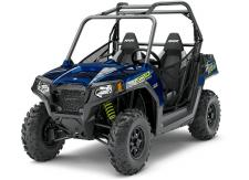 THE RZR 570 DELIVERS THE ESSENTIAL RZR EXPERIENCE. FEATURING 45 HP AND A 50 WIDTH, YOU CAN ENJOY RAZOR SHARP PERFORMANCE ON WIDTH-RESTRICTED TRAILS.  EPS MODEL INCLUDES:     Electronic Power Steering (EPS)     High Performance True On-Demand All Wheel Drive     VersaTrac Turf Mode     Maxxis Tires     Cast Aluminum Wheels     High/Low Beam Headlights     Automotive Style Paint