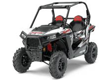THE RZR 900 IS THE MOST POWERFUL, FASTEST ACCELERATING TRAIL-WIDTH RZR AVAILABLE. FEATURING 75 HP AND A 50 WIDTH, YOULL EXPERIENCE THE THRILL OF RAZOR SHARP PERFORMANCE ON WIDTH-RESTRICTED TRAILS. EPS FEATURES:      Electronic Power Steering (EPS)      High Performance True On-Demand All Wheel Drive      Cast Aluminum Wheels      Automotive Style Paint