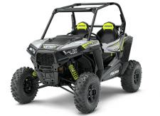 "THE RZR S 900 FEATURES PROVEN POWER AND LEGENDARY 60 RZR S RIDE AND HANDLING ON THE TRAIL. EPS FEATURES:      Electronic Power Steering (EPS)      High Performance True On-Demand All Wheel Drive      Premium 2"" Walker Evans Needle Shocks      Automotive Style Paint"