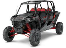 "THE RZR XP 4 1000 SETS THE BENCHMARK FOR XTREME PERFORMANCE ON ALL TERRAIN, FEATURING THE ULTIMATE COMBINATION OF POWER, SUSPENSION, AND AGILITY. WHETHER YOURE TEARING THROUGH THE TRAILS, CLIMBING DUNES, OR BLAZING ACROSS THE DESERT FLOOR, YOU AND YOUR PASSENGERS WILL GET ALL THE THRILLS OF OFF-ROADING IN A RZR XP 4 1000. RIDE COMMAND EDITION FEATURES:      RIDE COMMAND 7"" Display     Group Ride (Via free RIDE COMMAND Mobile App)     Door Speakers     Front and rear wired cameras     Bluetooth and USB Smartphone Connectivity     Integrated GoPro® Control (GoPro not included)     AM/FM & Weather Radio     In-Vehicle Communications Capable (Via Display with option accessory headsets)     Ride Stat Tracking & Sharing (Via free RIDE COMMAND Mobile App)     Built-In GPS     And More"