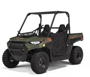 The 2020 RANGER 150 EFI features the industrys first connected safety features, along with a protective cage, seatbelt interlocking system, nets, safety flag and two helmets. Powered by cutting-edge Ride Command technology, parents have unprecedented control over their kids speed, distance and riding safety.
