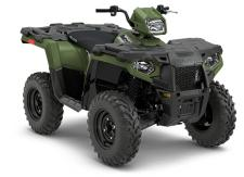 DURABLE. RELIABLE. BUILT TO LAST. When you're working on your property or out on the trail, you can't afford down time. The Sportsman 450 H.O. is durable, reliable, and built to last.      NEW! Our half shaft drive axles have been redesigned to increase strength and durability over the toughest terrain.     Electronic Fuel Injection (EFI) for reliable cold start.     Steel framed Lock & Ride® racks.     STX vinyl seat for all-weather durability.