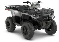 There is a reason the Polaris Sportsman 570 is the best-selling automatic ATV on the market. Its the smoothest riding, hardest working ATV in its class and gives you more value than any other ATV in its class. Utility Model Features:      Variable Low Speed Limiter (Set 7-14 mph for Spraying, Mowing, or Other Work)     Steel Racks with Heavy Duty Dual Rear Work Trays     Heavy Duty Steel Front Bumper     Steel Front Lower Bumper     12V Dash Switchable Rear Utility Power Outlet     Heavy Duty 6-Ply Tires     Work-Specific Lower Gear Ratio     Front & Rear Receiver Hitch     Rear Multi Hitch for Ball and Pin