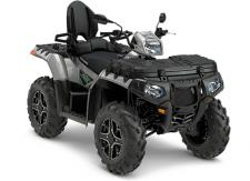 The Sportsman® Touring XP 1000 is the world's most powerful ATV with an integrated passenger seat system for 2-Up versatility. Combining legendary ride and handling, hardest working power, and the premium XP Performance Package to give you and your passenger the ultimate sport utility experience.      High-Performance Close Ratio On-Demand All Wheel Drive     Standard Engine Braking System (EBS) with Active Descent Control (ADC)     Dual A-Arm Front Suspension with 8.25 of Travel     Standard Electronic Power Steering (EPS)     26 PXT tires with 14 Cast Aluminum Wheels     Automotive Style Paint with Custom Graphics Package