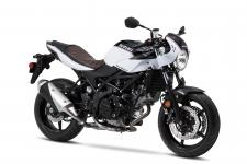 If you're looking to get out on the road on a sporty bike with café racer styling, look no further than Suzuki's SV650X.