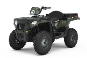 Do more work and hit more trails with the most versatile 1-Up & 2-Up configurations you can find on an ATV. Includes: Versatile 1-up and 2-up Integrated Passenger Seating System True On-Demand AWD/2WD 44 HP ProStar Engine Variable Assist Electronic Power Steering (EPS) 9.5 Travel Independent Rear Suspension Engine Braking System (EBS) with Active Descent Control (ADC) 400 Capacity Dumping Rear Cargo Box Winch/Plow Mount Integration