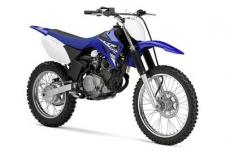 The Yamaha TT-R125 LE is a fast and reliable dirt bike designed for the toughest off road competitions. It features a sturdy frame and a long wheelbase which helps it accommodate bigger riders without sacrificing the handling abilities.