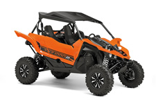 The all‑new YXZ1000R. A sport 3 cylinder engine and class‑defining 5‑speed sequential shift transmission. Welcome to the ultimate pure sport SxS experience.